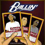 Starlito - Ballin (feat. Kevin Gates & Juicy J) - Single Cover