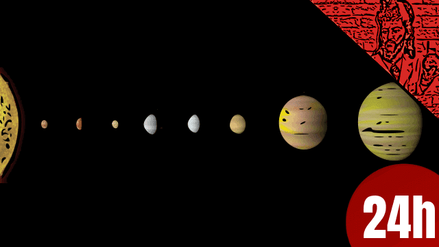 QN NEWS 24h - Sistema solar com 8 planetas como o nosso