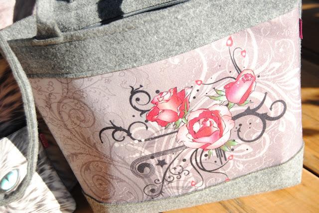 torebka z filcu