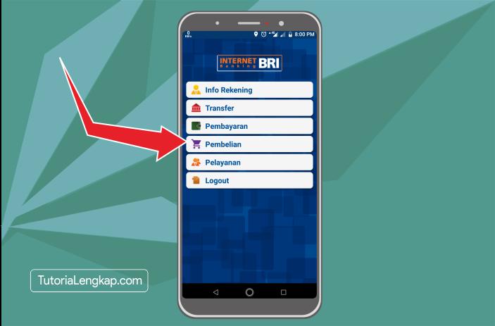 Tutorialengkap 3 Cara Membeli Pulsa Online Melalui BRI Mobile Banking di hape Android