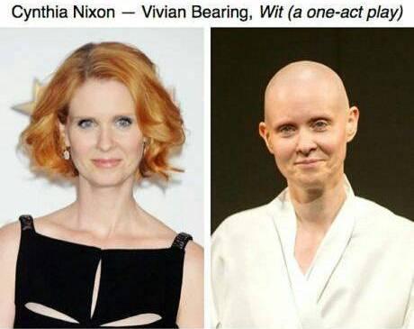Cynthia Nixon - Artis Cantik Hollywood Rela Tampil Jelek Demi Peran