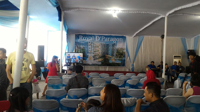 Sewa TV Plasma Untuk Event Gathering Buyer Royal D'Paragon