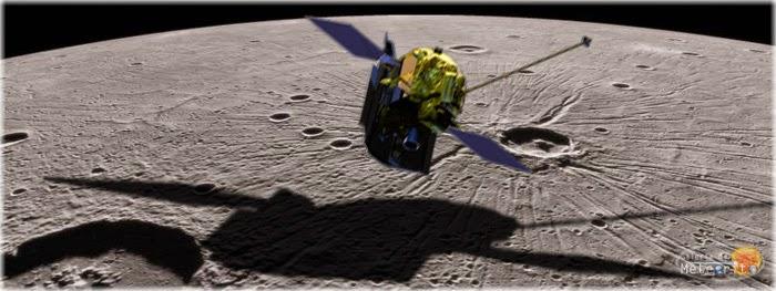 sonda da NASA colisão com planeta Mercúrio