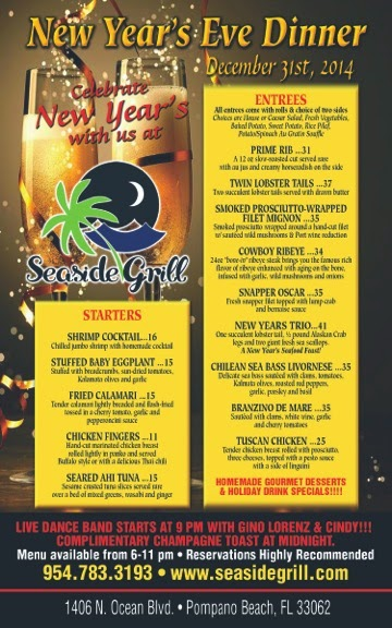 Hy Holidays 2017 From Seaside Grill