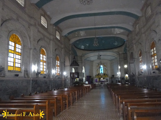Inside Lilo-an Church (Lilo-an, Cebu)
