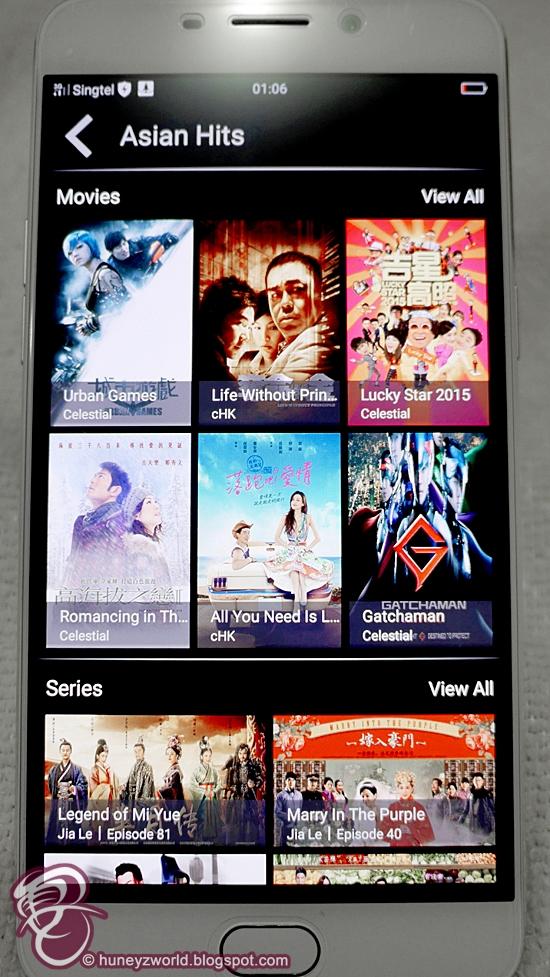 5 Things I Like About Singtel's Cast App ~ Huney'Z World