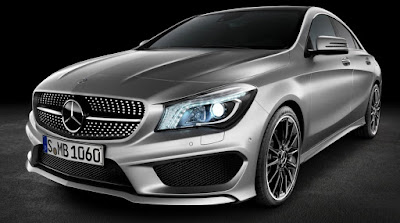 Mercedes CLA Facelift front Hd Images
