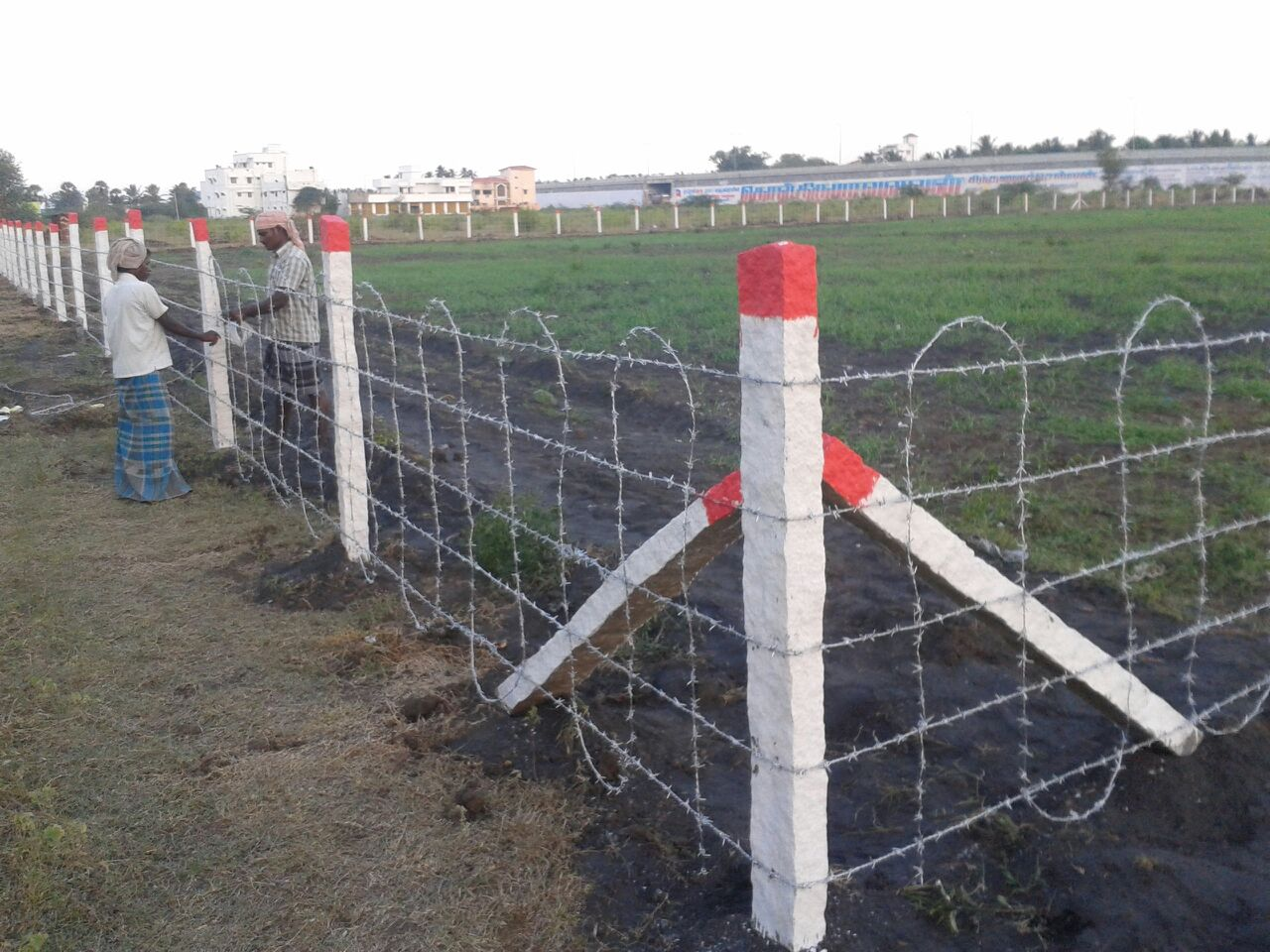 Barbed Wire Fencing Price In Chennai - WIRE Center •