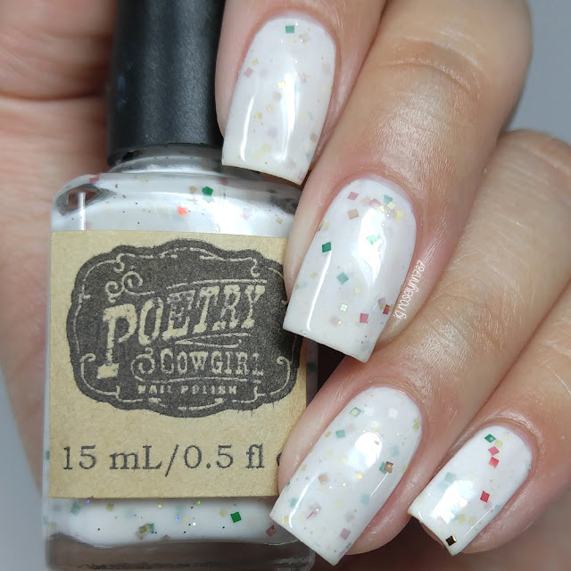 Poetry Cowgirl Nail Polish - Peppermint Candy
