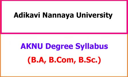 AKNU Degree Syllabus