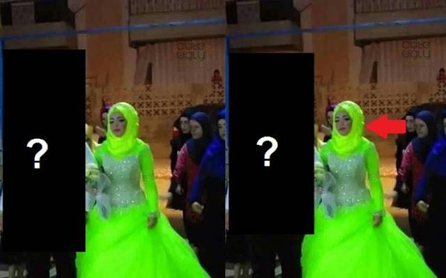 مصرية تفاجىء الجميع بإرتداء فستان زفاف غير طبيعي و زوجها يكمل المفاجأة! و الصدمة فيما أرتدى العريس! شاهد الصورة كاملة