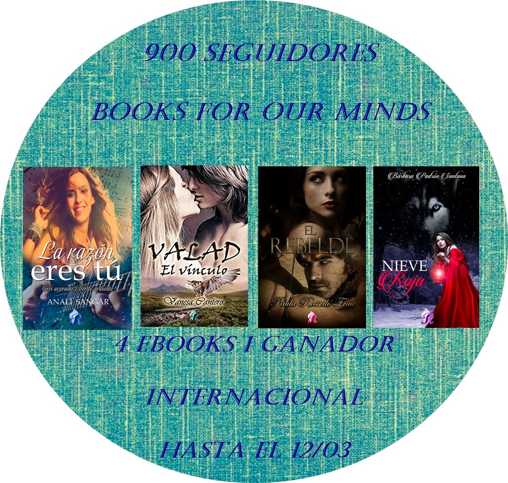Sorteo de 4 ebooks