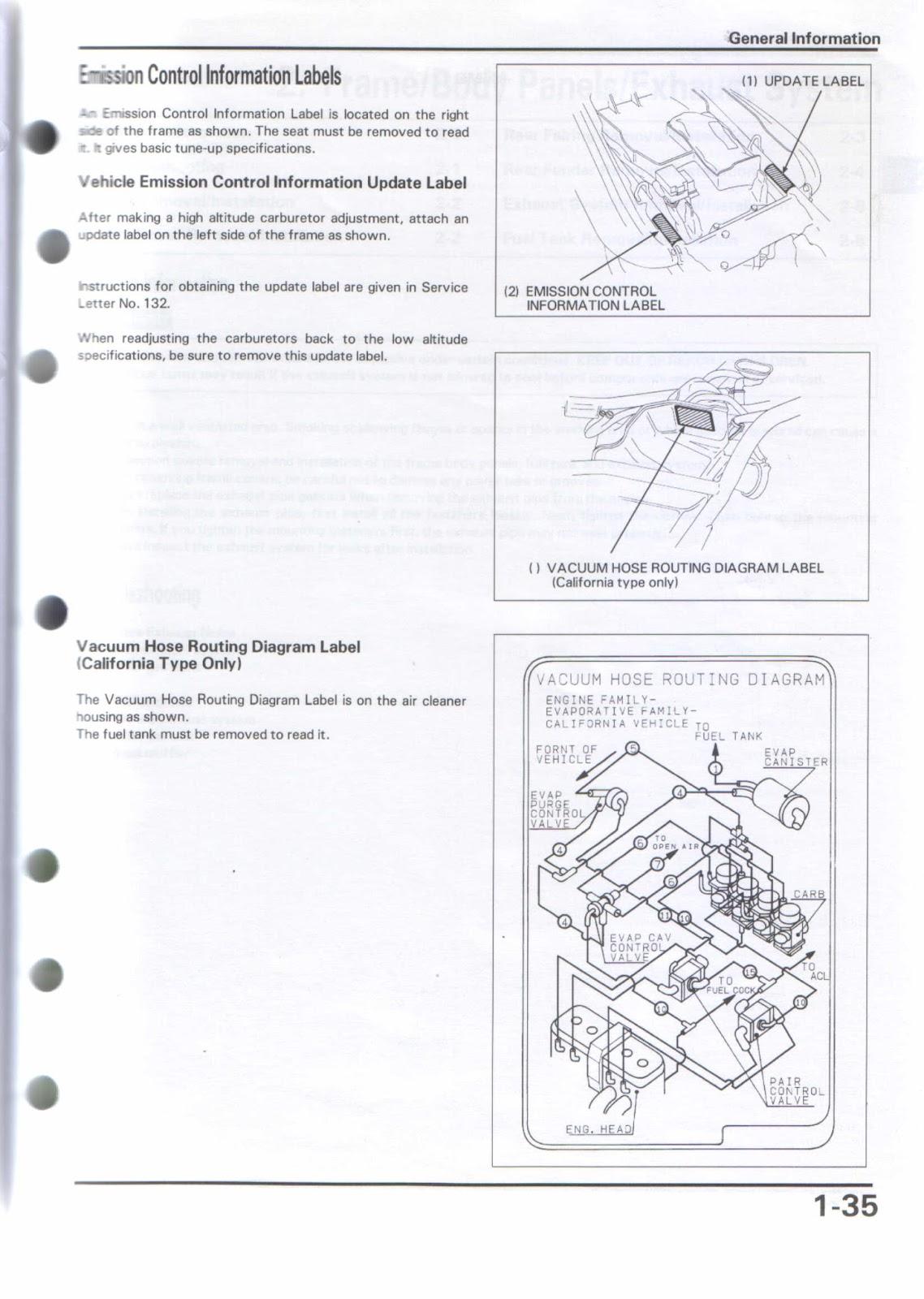 Honda CB1000 Big One Manual