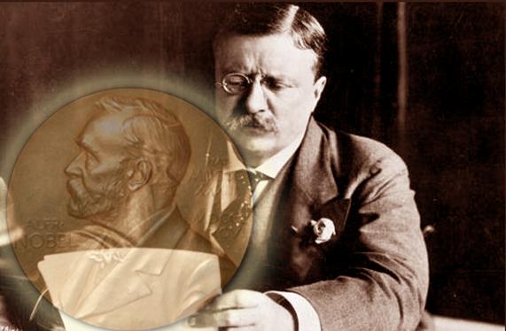 Theodore Roosevelt peraih Nobel Perdamaian tahun 1906