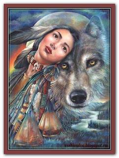 """Dream of the Wolf Maiden"" Tilton Crafts"