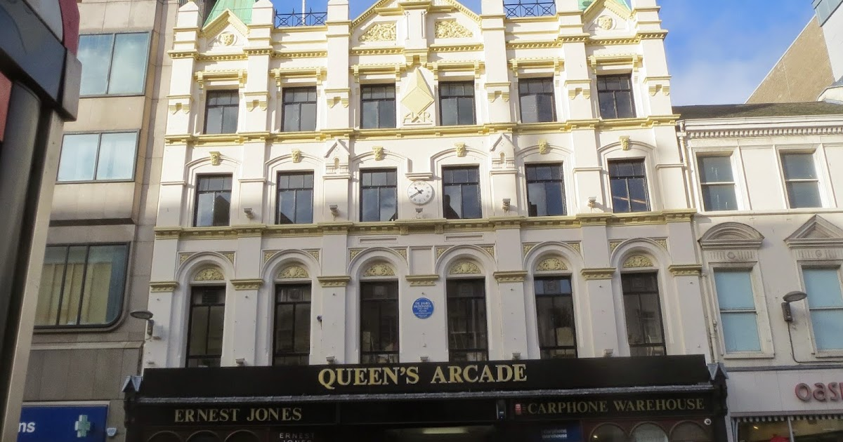 Queen S Arcade Belfast Lord Belmont In Northern Ireland