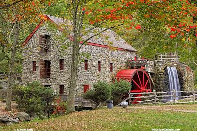 Autumn Sudbury Grist Mill