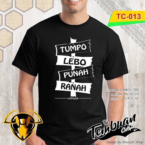 Tembuan Clothing - TC-013 (Tumpo Lebo Punah Ranah)