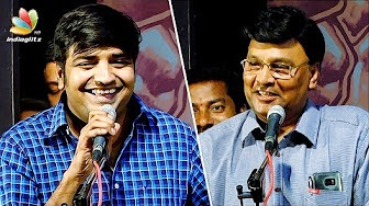 Comedy Actor Sathish recalls experiences in Stage Drama | Bhagyaraj Latest Speech