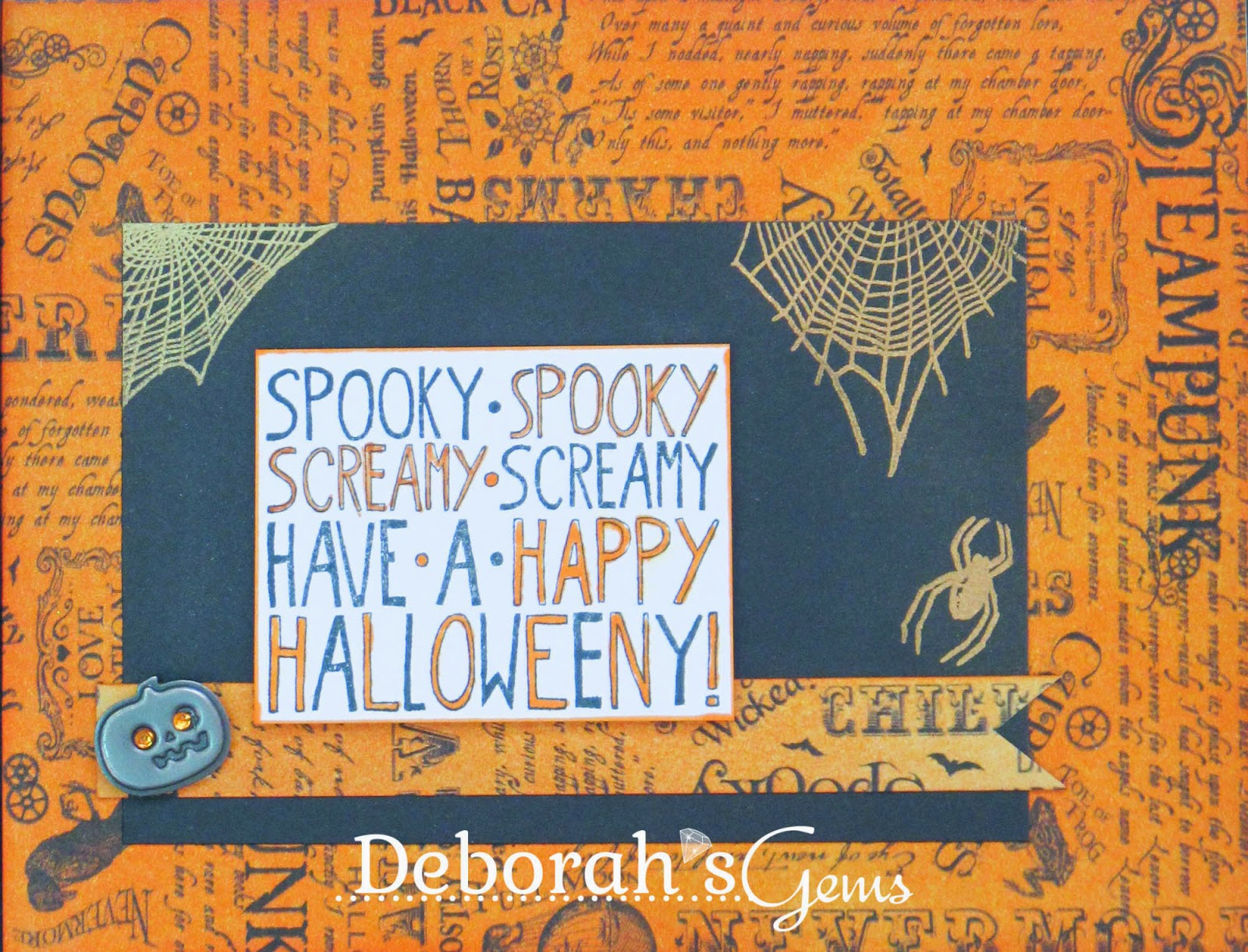 Happy Halloweeny! - photo by Deborah Frings - Deborah's Gems