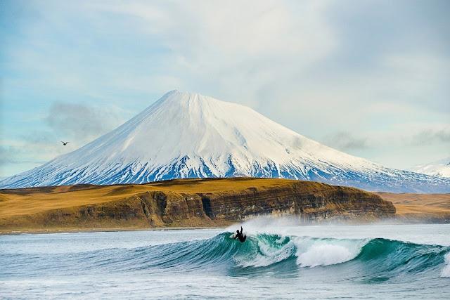Kepulauan Aleut, USA, Rusia