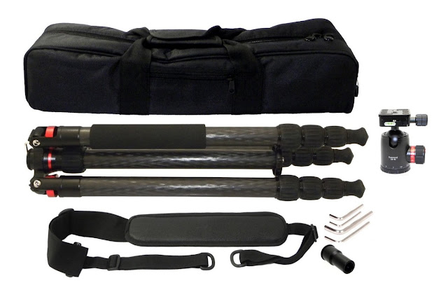 Desmond DCF-428 Tripod Package Contents