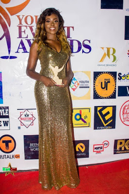 "Araba Sey Wins ""Model Of The Year"" At The 2018 Youth Event Awards"