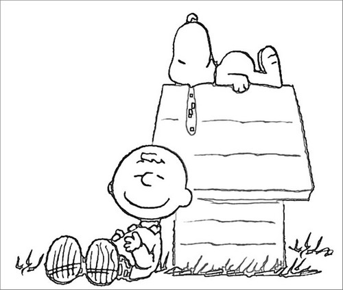 Peauts coloring pages ~ Poetizzando: Colora Snoopy