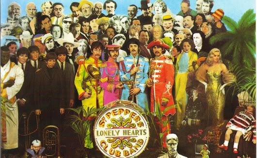 Is the Sgt Pepper record cover a treasure map?