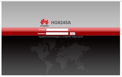 Cara Hack WIFI Modem Huawei HG8245A