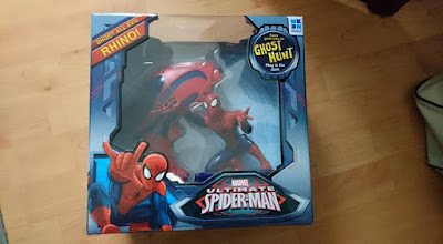 Toy Review: Spiderman and Alien Mission