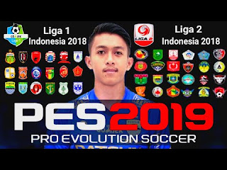 Download FTS Mod PES 2019 Liga Indonesia + Full HD Terbaru [ By Gila Game ]