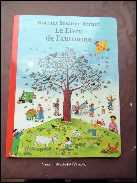 livre de l'automne rotraut suzanne couverture