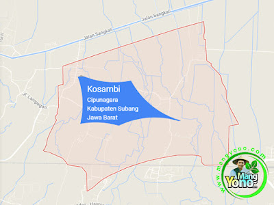 PETA :  Desa Kosambi, Kecamatan Cipunagara
