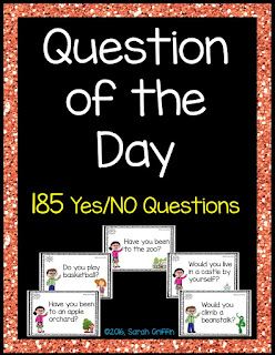 https://www.teacherspayteachers.com/Product/Question-of-the-Day-YesNo-Questions-772123