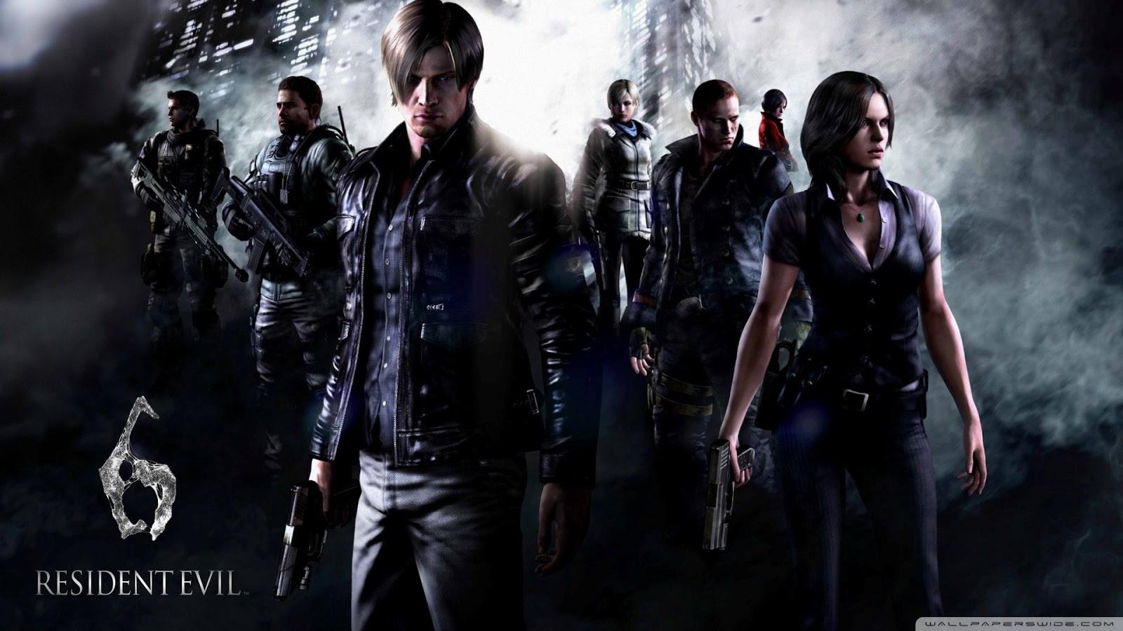 Wallpapers HD: 13 Wallpapers De Resident Evil En HD Y Full