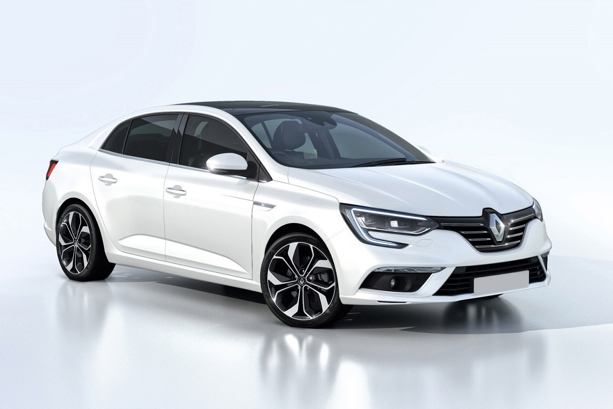 2018 renault megane sedan a saloon with features from the segment above car reviews new. Black Bedroom Furniture Sets. Home Design Ideas