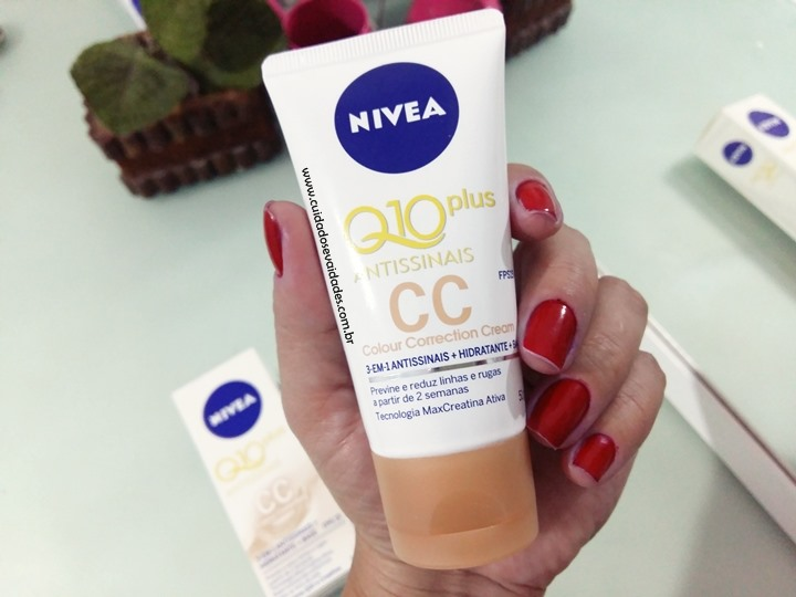 CC Cream Nivea Q10 Plus