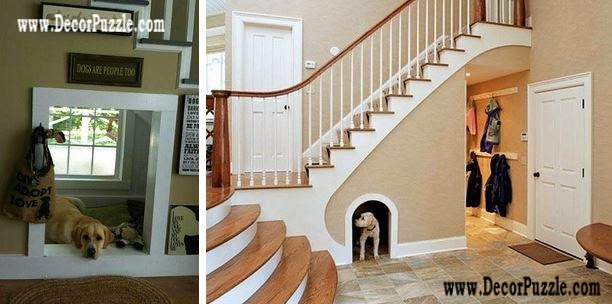 Utilization under stairs ideas for Domestic Animals