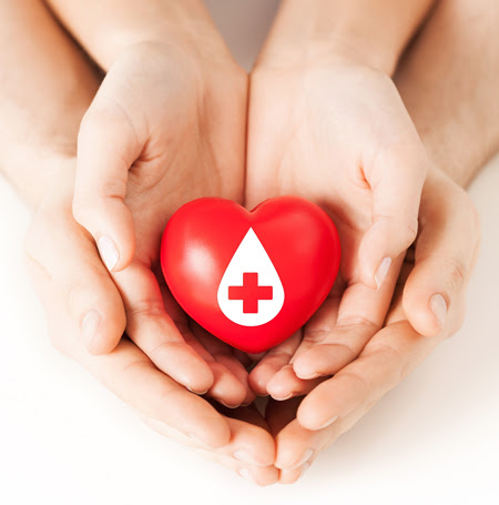 GIVE BLOOD, SAVE LIVES….