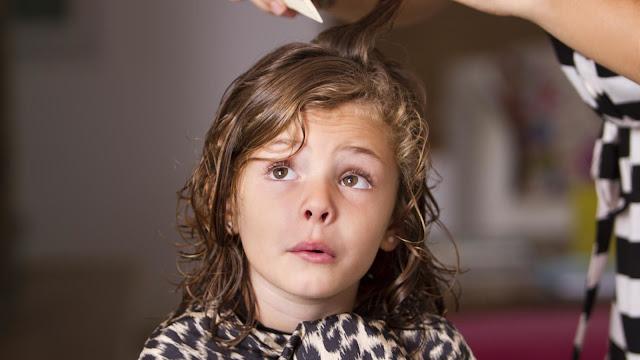 Rambut Anak yang Kering