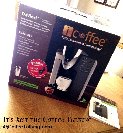 Davinci Coffee Maker Reviews : It s Just the Coffee Talking: Review of my new icoffee coffeemaker! Davinci Model - (NOT ...