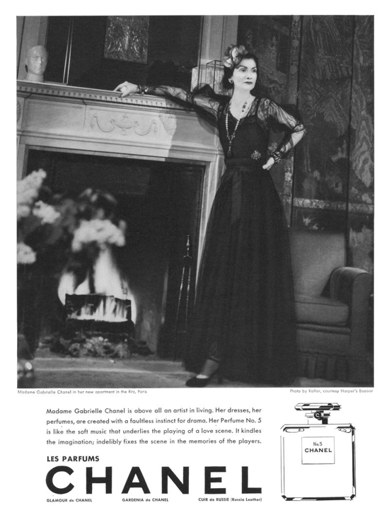 Chanel N°5 advertisement 1937