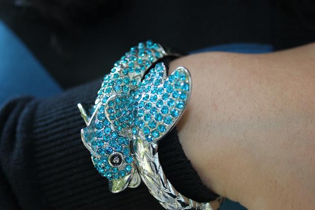 Forever 21 Koi Cuff Bracelet