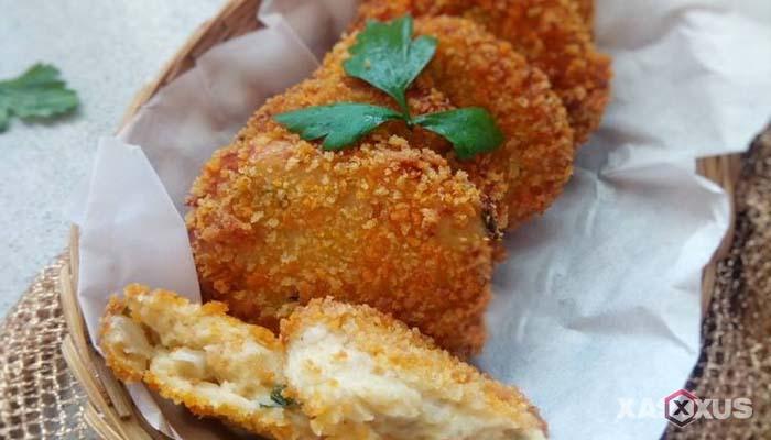 Resep cara membuat perkedel kentang ayam