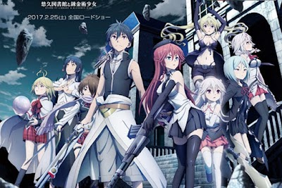 Trinity Seven Movie 1: Eternity Library to Alchemic Girl BD Subtitle Indonesia