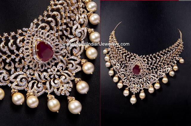Diamond Necklace for Indian Brides