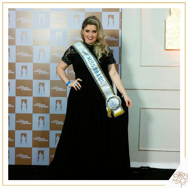 A elegância da Miss Brasil Plus Size @alinekfrade www.bellaheranca.com.br