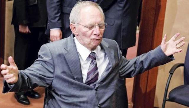 Σόιμπλε: Έλληνες, και λίγα σας έκανα!