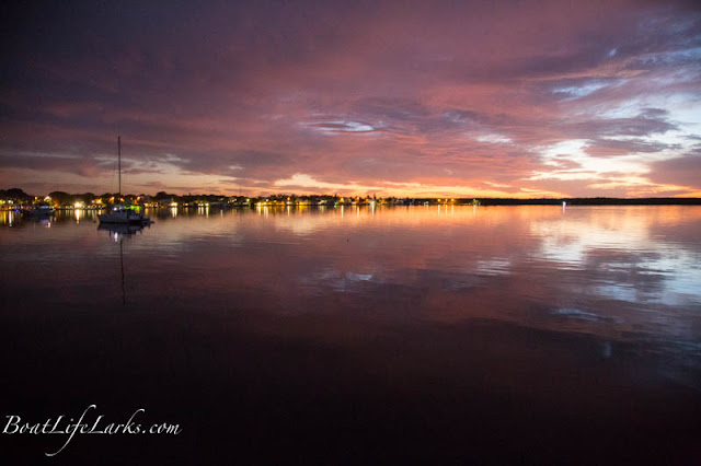 Tarpon Basin at dusk